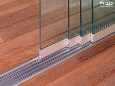 VETRATE SCORREVOLI Room Divider Doors, Room Doors, Front Door Design, Window Design, Glass Garage Door, Balcony Doors, House Extension Design, Minimalist House Design, Aluminium Doors