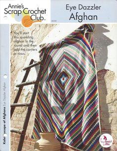 🎨 Do olho Sucata Afegão malha Crochê itens decorativos Criações -  /  🎨 Eye Afghan Scrap Crochet Knit Knacks Creations -
