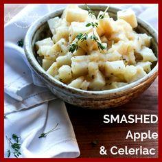 Smashed Apple and Celeriac