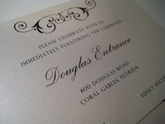 Brown and Ivory Wedding Invitation - Paper goods by Le Petit Papier - www.lepetitpapierbymonica.com