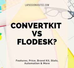 Flodesk vs ConvertKit? Which email marketing service is better? Sharing my honest Flodesk review as a paying ConvertKit and Flodesk customer. Email Marketing Services, Content Marketing, Make Money Blogging, How To Make Money, Creating A Blog, Blogging For Beginners, Social Media Tips, Blog Tips, How To Start A Blog