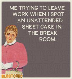 Bluntcard loves sheetcake
