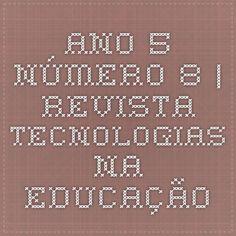 Ano 5- Número 8 | Revista Tecnologias na Educação