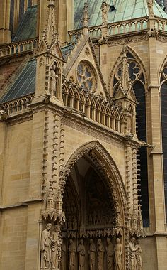 Metz, St. Stephen's Cathedral, Portal of the Virgin