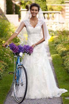 David's Bridal..love seeing this dress when I'm at work at Davids :)