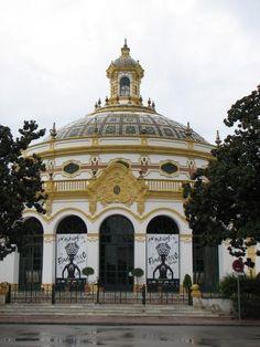 Lope de Vega Theatre (Seville) - Wikipedia, the free encyclopedia Colonial, Taj Mahal, Theatre, Madrid, Spanish, Building, Places, Travel, Festivals