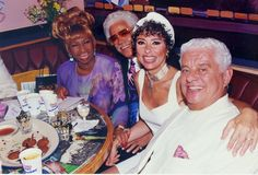 Celia, Johnny Pacheco, Rita Moreno and the legendary Tito Puente