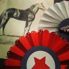 #wip Vintage Horseshow Rosettes
