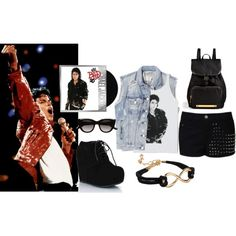 By cocoj143 on Polyvore. Michael Jackson outfit / Set