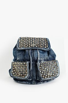 Valley Girl Studded Backpack