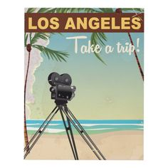 Shop Los angeles vintage camera beach travel poster postcard created by bartonleclaydesign. Wood Wall Decor, Wood Wall Art, Beach Travel, Beach Trip, Cheap Beach Vacations, Cruise Door, Cheap Places To Travel, Los Angeles Shopping, Wood Company
