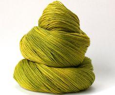 Smoothie Sock merino nylon hand dyed yarn by ArtistsPaletteYarns, £13.00