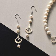 #HASUNA#earring#necklace#ピアス#ネックレス#pearl#パール#fashion#accessory#jewelry