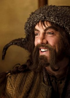 Bofur-- I realize he *physically* might not be everyone's cup of tea, (and Thorin's definitely the sexiest), but he's my favorite dwarf. ^w^ He's a sweetie. <3