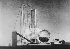 Ivan Leonidov's the Lenin Institute proposal (1927)