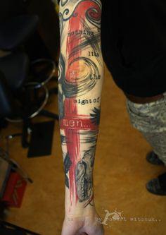 strokes tattoos by robert witczuk