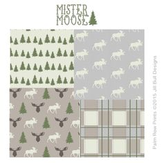 Mister Moose choose your print bedding  https://www.etsy.com/listing/225667393/custom-nursary-bedding-choose-your Moose/nursery/crib/hunting/woodsy/forest