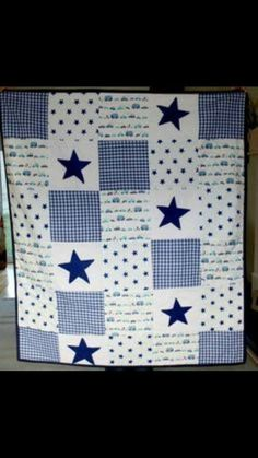 baby quilt squares stars Baby Boy Quilt Patterns c036cdd4e