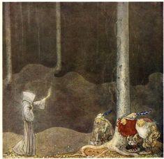 """0100 - Broder Martin och Trollen. """"Broder Martin"""" av Emil Eliasson. I """"Bland Tomtar och Troll"""" 1913"""