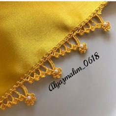 Crochet Edging Patterns, Crochet Bikini Pattern, Crochet Borders, Baby Knitting Patterns, Knitting Stitches, Crochet Designs, Filet Crochet, Crochet Cord, Love Crochet