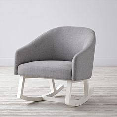 If you're looking for a rocking chair with a streamlined design and stylish body, then our Neo Rocking Chair is the one. Its sturdy beech and pine frame and durable upholstery make it ideal for any nursery. And, the neutral color of the upholstery makes it ideal for any style of décor.