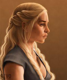 Game of Thrones - Daenerys Targaryen by Aether-Vortex.deviantart.com on @DeviantArt