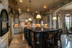 Gourmet Kitchen :: Tudor style home