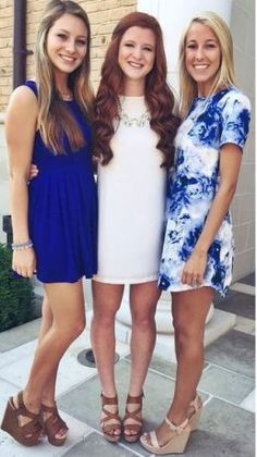Cute outfits for sorority recruitment!
