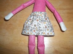 Christmas Elf doll skirt cream with tan flowers by on Etsy Christmas Elf Doll, Dolls, This Or That Questions, Cream, Skirts, Flowers, Etsy, Clothes, Fashion