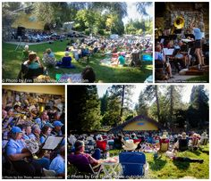 """Nevada County Concert Band Picnic at Pioneer Park Series, Sunday, August 24th 5-7pm, """"Just a Kid at Heart"""" theme."""