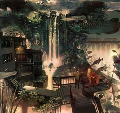 My Point Of View, Various Artists, Cool Art, Anime Art, Digital Art, Animation, Mansions, Cool Stuff, House Styles