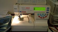 Polish and Stitches: Me and My Pfaff 7570....a Journey in perseverance