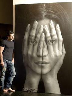 """Saatchi Art Artist: Tigran Tsitoghdzyan; Oil 2012 Painting """"Mirror"""" saatchiart.com"""