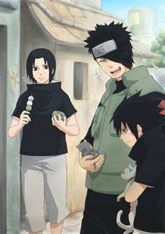Naruto 🍥 Shippuden: Uchiha Clan's Obito Itachi & Sasuke Uchiha Itachi Uchiha, Naruto Shippuden Sasuke, Naruto And Sasuke, Anime Naruto, Naruto Fan Art, Wallpaper Naruto Shippuden, Naruto Cute, Naruto Wallpaper, Naruto Pictures