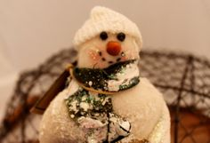 Snow Man ,Textured Snowman short