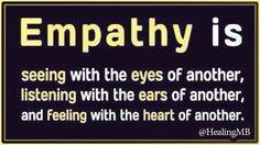 We all need empathy. We all need to practice it.