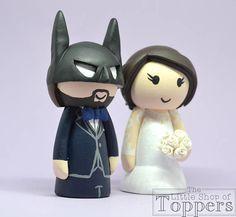 Items similar to Wedding Cake Topper - Superhero Groom & Bride on Etsy Superhero Cake Toppers, Wedding Bride, Our Wedding, Personalized Wedding Cake Toppers, Mouse Ears, Handmade Items, Handmade Gifts, Wedding Cakes, Groom