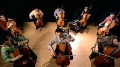 The Cello Song - (Bach is back with 7 more cellos) - ThePianoGuys, via YouTube.