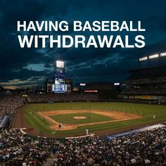 """Pitchers and catchers reporting are the first aspirins for this """"no baseball"""" headache, but the real cure is coming!"""