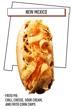 The magic of Frito Pie is that it's eaten in bag. But with this dog, forget authenticity. Simply place your dog in a bun, top with chili and cheese, then broil until cheese is melty and hot dog is hot. Top with Fritos and sour cream. Eat ten.   - Delish.com