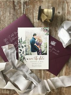 Save the dates with photos
