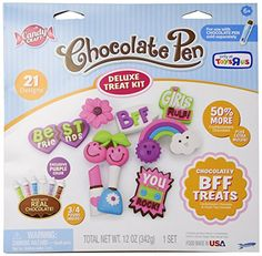 Kids' Cooking Appliances - Candy Craft Chocolate Pen Deluxe Treat Kit 21 Designs Chocolatey BFF Treats Exclusive Purple Color *** More info could be found at the image url.