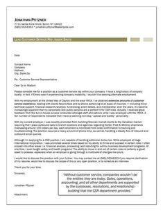 23 Best cover letter images | Cover letter for resume, Cover ...