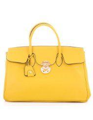 ROUVEN Zitronen Gelb & Gold Jane 40 Tote Bag Handtasche