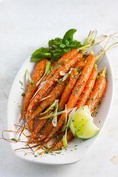 Roasted Cumin-Lime Carrots | MindfullyNutritious.com
