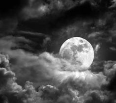 Awesome full moon wallpaper, 1920 x 1080 kB) Night Clouds, Night Skies, Sky Night, Night Fever, Night Lights, Sky Tattoos, Tatoos, Cloudy Nights, Full Moon Night