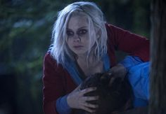 """iZombie -- """"Pilot"""" -- Image Number: -- Pictured: Rose McIver as Olivia """"Liv"""" Moore -- Photo: Cate Cameron/The CW -- © 2015 The CW Network, LLC. All rights reserved. Izombie Tv Series, Izombie Cast, Dc Tv Shows, New Shows, Vampires, Izombie Season 1, Detective, I Zombie, Rose Mciver"""