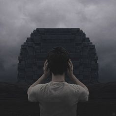 yuri shwedoff composes dramatic digital landscapes with dystopian themes, often illustrating science-fiction like fantasies that merge technology and biology.