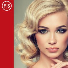 Polished, bouncy waves - A classic look that's understated, sexy, and feminine all rolled into one.  View the image gallery https://www.fantasticsams.com/about/news/5-romantic-valentine%E2%80%99s-day-hairdo-ideas #HairIdeas #FantasticSams