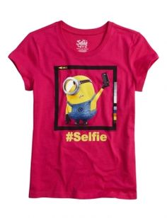 Minion Selfie Graphic Tee | Girls {category} {parent_category} | Shop Justice